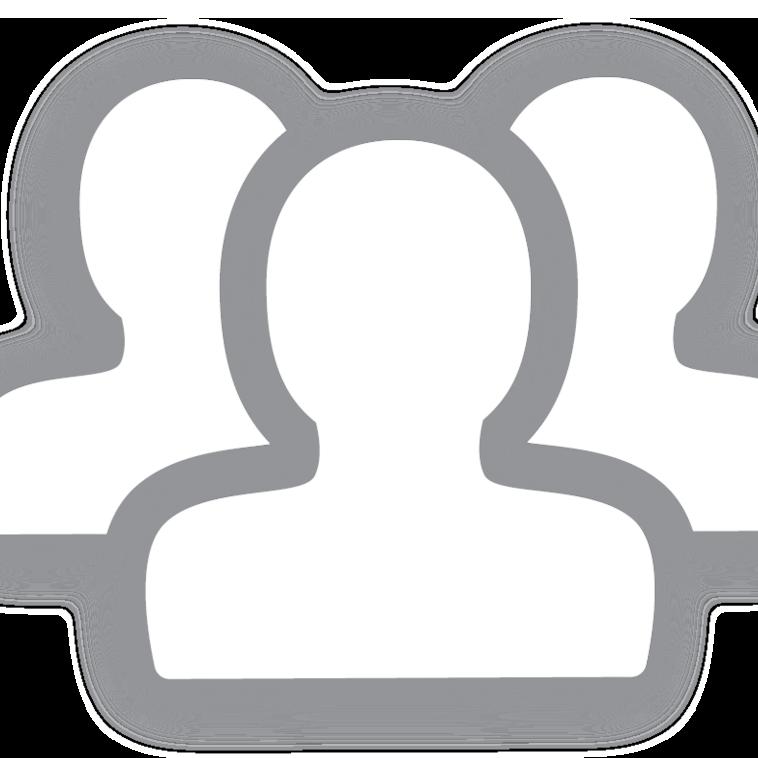 Icon of silhouettes